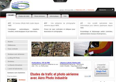 Site Internet Aéro Photo Industrie