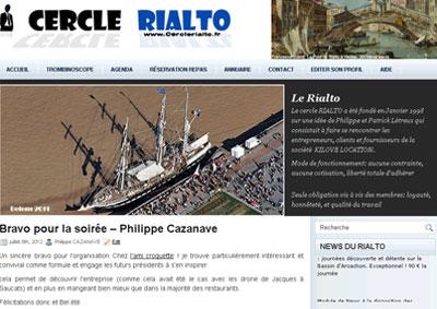 Club d'entreprises de Bordeaux Cercle Rialto